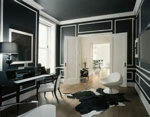 Versace Home Interior Design Black Walls Without Transformations