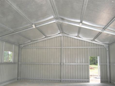 insulate metal shed insulbreak 65 insulation solution for steel sheds and