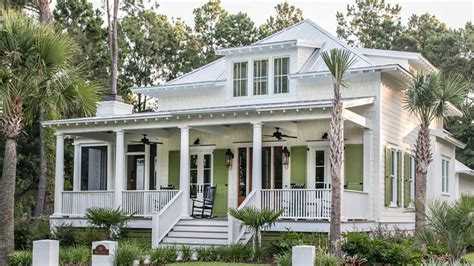 beach house plans  cottage lovers southern