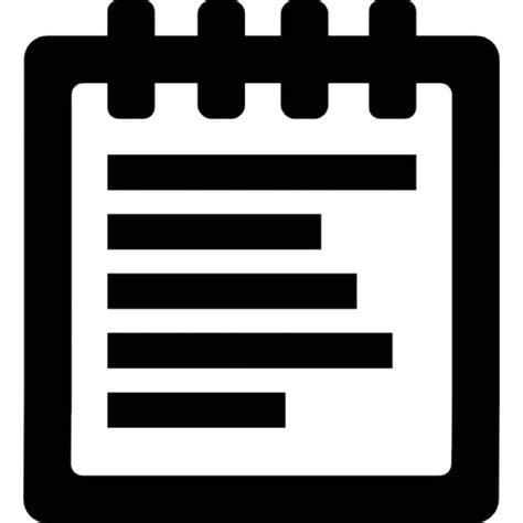 telecharger un bloc note pour le bureau bloc notes télécharger icons gratuitement