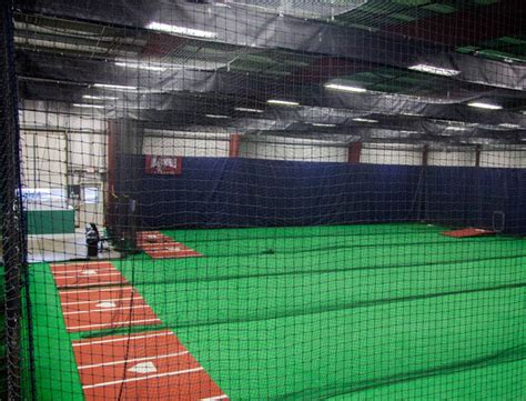 deck batting cages lbi indoor batting cages for baseball softball on deck sports