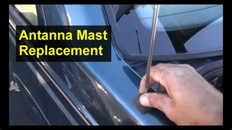 antenna mast replacement stick