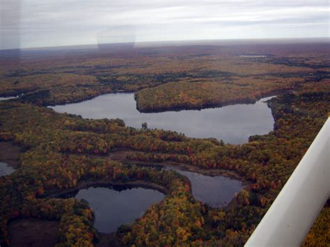 Boot Lake from the Air