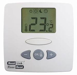 Heat Link Floor Heat Thermostat Instructions