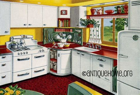 eat in kitchen floor plans mixing corner 1950s kitchen design in and yellow