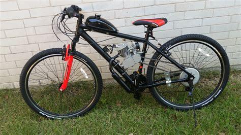 2 Stroke Motorized Mountain Bike