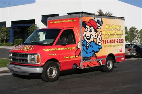 fleet vehicle wraps garden grove