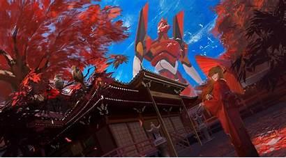 Evangelion Neon Eva Genesis Asuka Unit Langley
