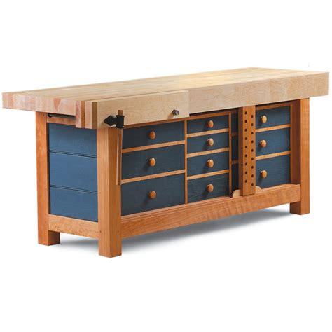ultimate shaker workbench finewoodworking