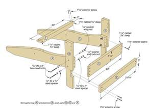 wood working plans shed plans and more folding adirondack chair project