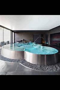 Unterschied Whirlpool Jacuzzi : modern indoor swimming pool modern overdekt binnenzwembad zwembad jacuzzi fonteyn ~ Markanthonyermac.com Haus und Dekorationen