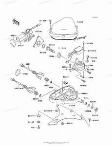 Kawasaki Jet Ski 1999 Oem Parts Diagram For Control