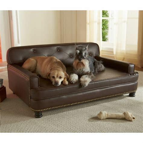 canapé pour grand chien le lit pour chien nécessaire et amusant