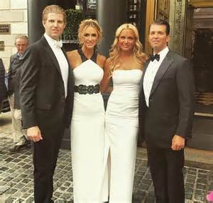 Donald Trump Jr and Wife