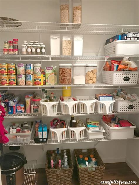 how to organize my kitchen pantry kitchen organization using spice jars a cup of sass 8772