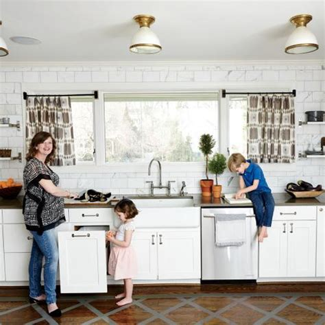 modern family friendly kitchen cooking light