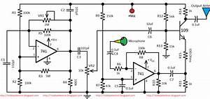 Am Transmitter Circuit Diagram Using 741 Op