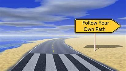 Path Follow Own Inspirational Wallpapers 1280 Previous