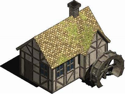 Watermill Medieval Icon Opengameart Bleed