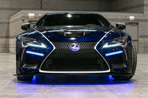 Lexus Car : 2018 Lexus Lc Special Editions Inspired By Black Panther