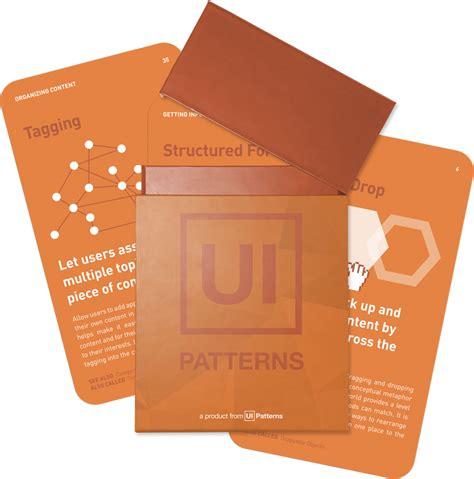 cards  ui patternscom