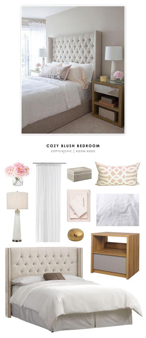 blush bedroom decor copy cat chic room redo cozy blush bedroom copycatchic 1749