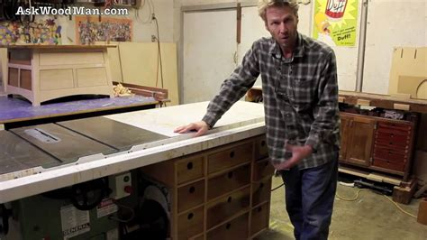 woodworking project  beginners table  drawers