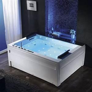 Baignoire Pour Deux : 25 best ideas about baignoire balneo sur pinterest ~ Premium-room.com Idées de Décoration