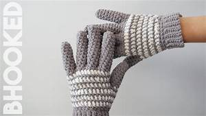 How To Crochet Gloves - Free Pattern