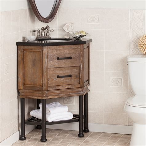 wildon home beale  single corner bath vanity sink