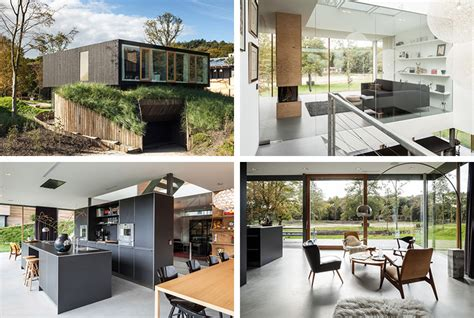 Energy Neutral House With Minimalist Design And Style