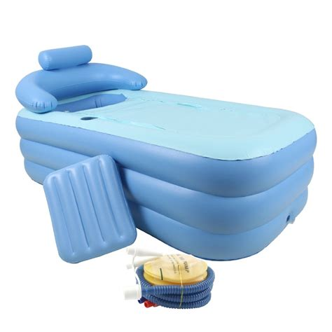portable bath tub pvc portable folding bath tub w air
