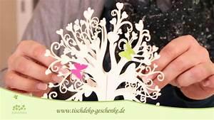 Tischdeko Selber Machen : tischdeko taufe selber machen in wei youtube ~ Watch28wear.com Haus und Dekorationen