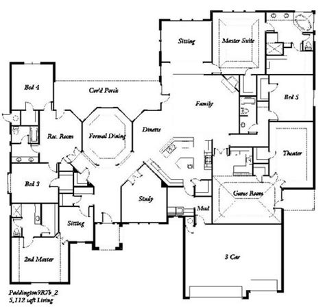 manchester homes  paddington  bedroom floor plan