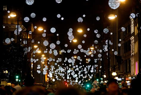 the oxford lights switch on date has been
