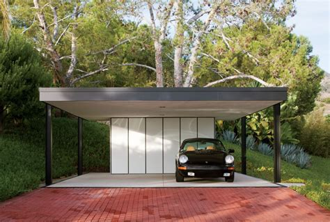 Our detached carports can be placed almost anywhere you need a shelter for your car and more. Modern Exterior by BoydDesign in Malibu, California (With ...