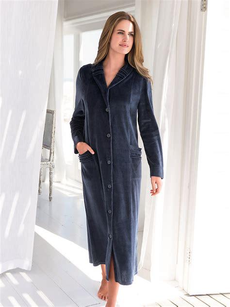 Robe De Chambre Velours Femme - robe de chambre polaire femme francoise saget peignoir et