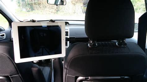test du support voiture arkon pour tablettes insert coin