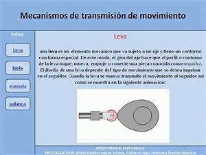 Mecanismos De Transmision De Movimiento De Yeison