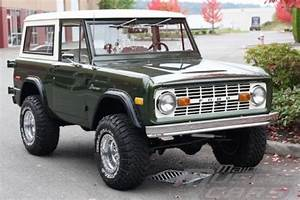 Find Used 1976 Ford Bronco - Dark Moss Green