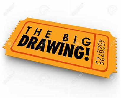 Raffle Ticket Drawing Contest Clipart Entry Win