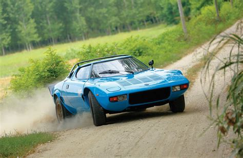 Rm Sotheby's Selling Blue Lancia Stratos Hf Stradale