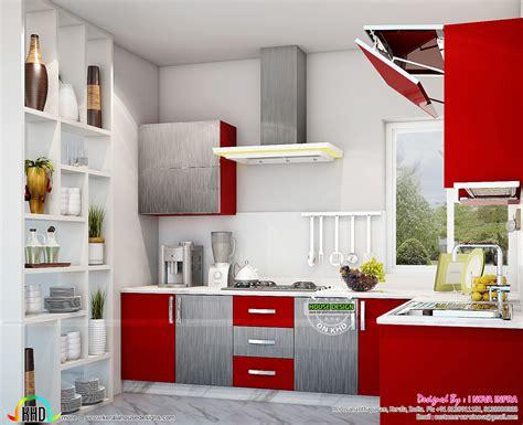kerala kitchen interiors kerala home design  floor