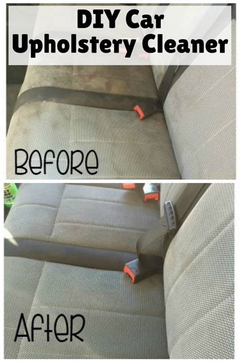 Upholstery Cleaner Car by Diy Car Upholstery Cleaner The Budget Diet