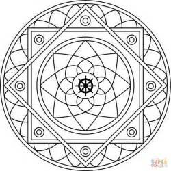 mandala  samsara coloring page  printable