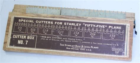 vintage tools stanley   combination plane set