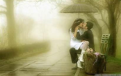 Romantic Romance Rain Wallpapers Laptop Couple Paris