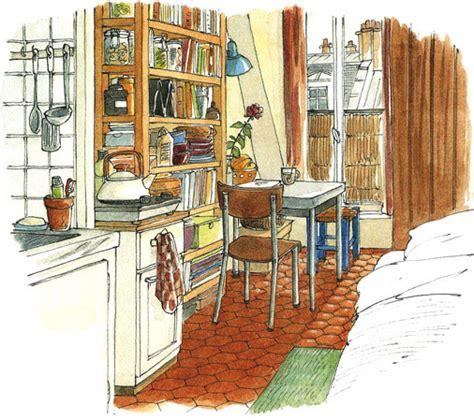 lise herzog illustrations portfolio tourisme architecture