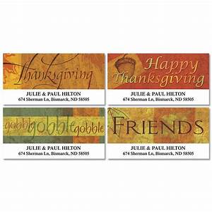 autumn appreciation deluxe return address labels With buy address stickers