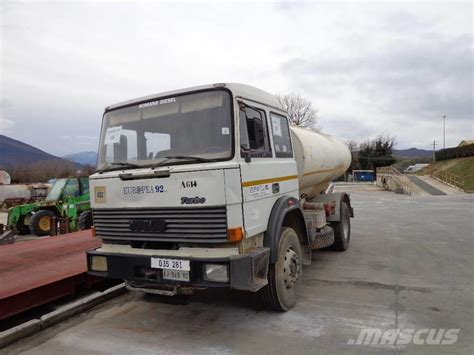 Iveco Fiat by Used Fiat Iveco 190 30 Cisterna Tanker Trucks Year 1987